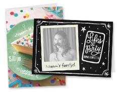verjaardagsfeest kaarten