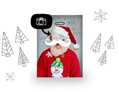 Kerst fotokaarten